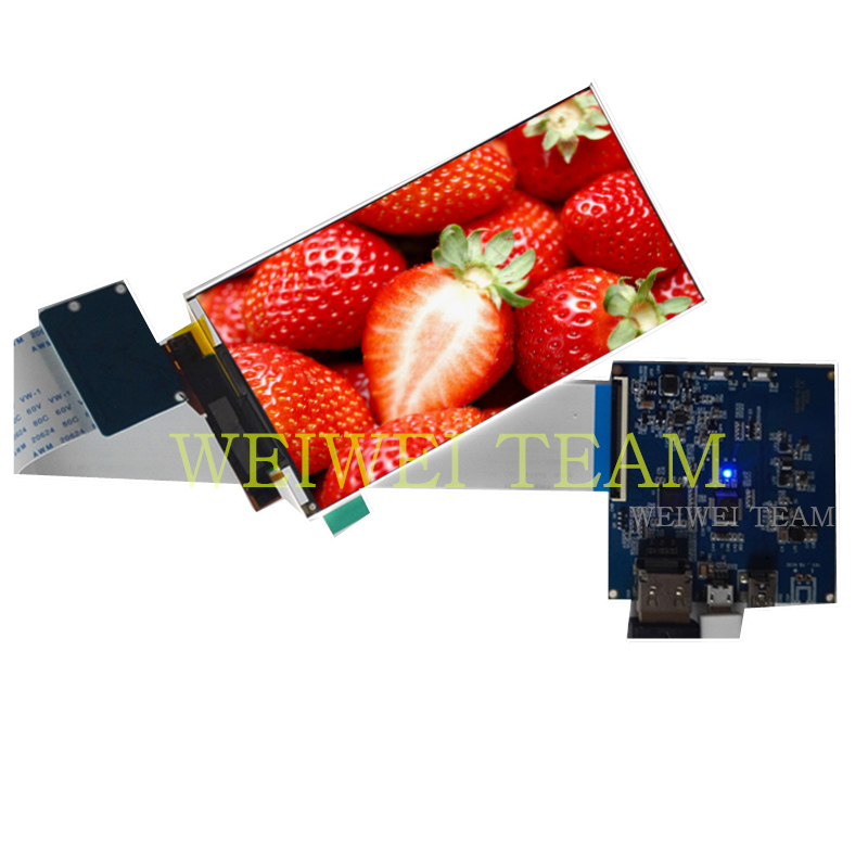 5.5 inch 4k LCD panel 2160*3840 module LCD screen display HDMI MIPI driver board for SLA 3D printer diy project