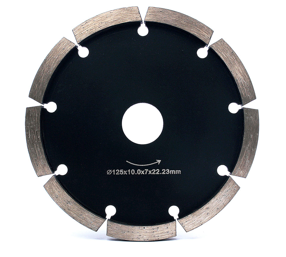 """5"""" Diamond Tuck Point Blade 10mm Thickness For Concrete Marble Granite Wall Floor Tuck Pointing Diamond Grinding Blade"""