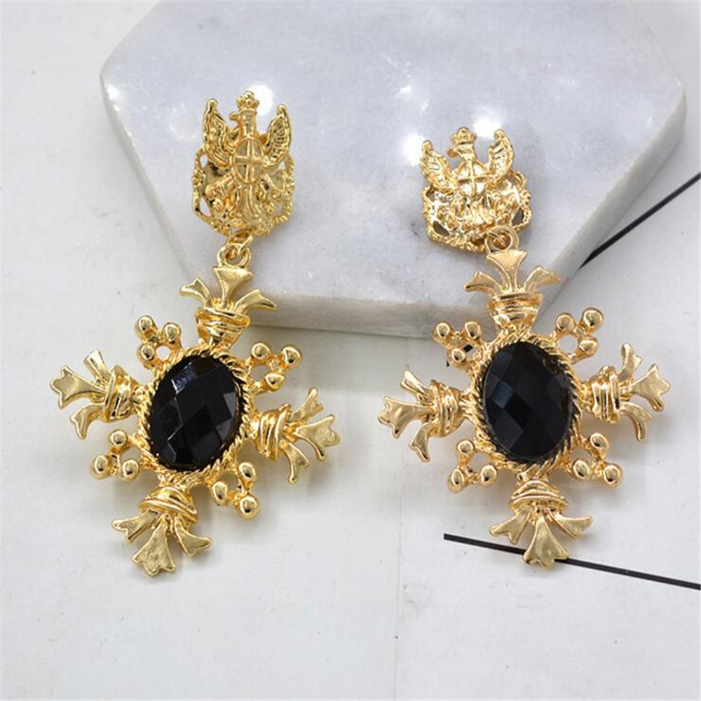 pearl id jewellery fashion bulava earrings color gold amara label buy work in