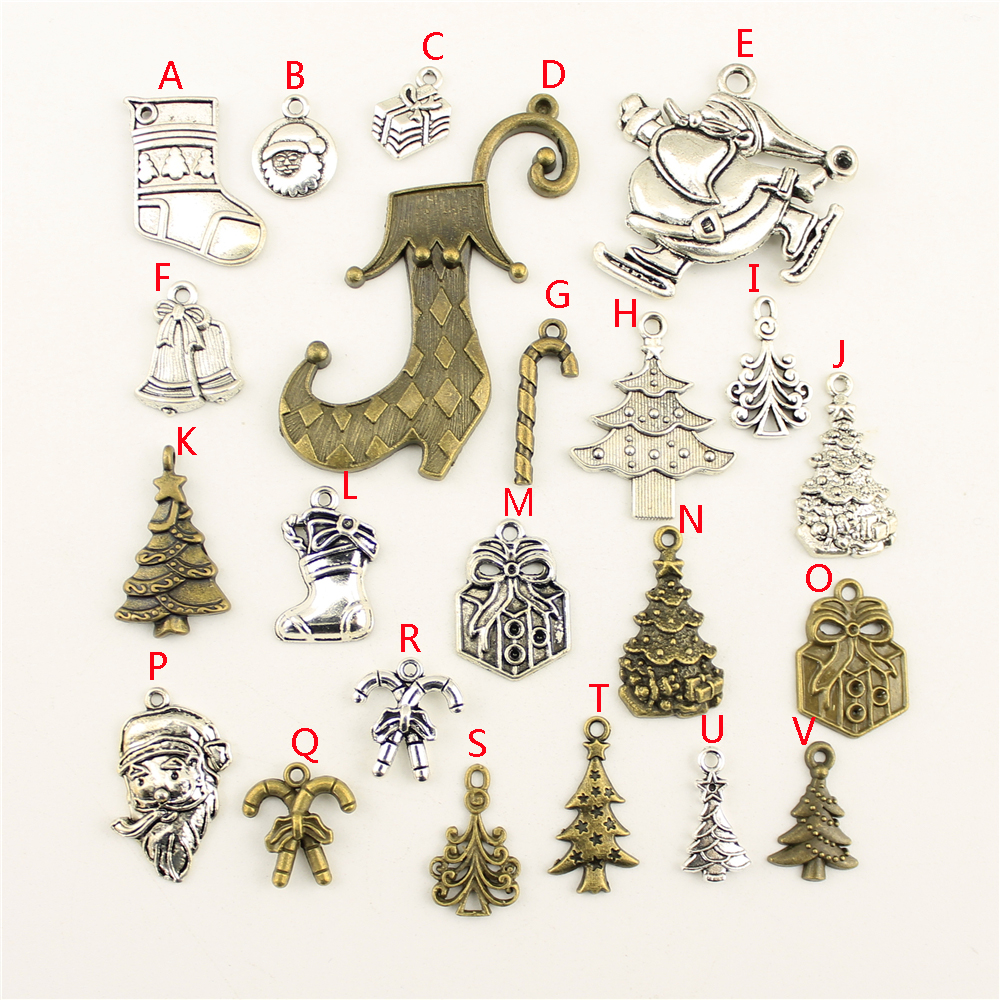 20Pcs Wholesale Bulk Jewelry Findings Components Tree Diy Accessories Jewelry Female HK151 in Charms from Jewelry Accessories