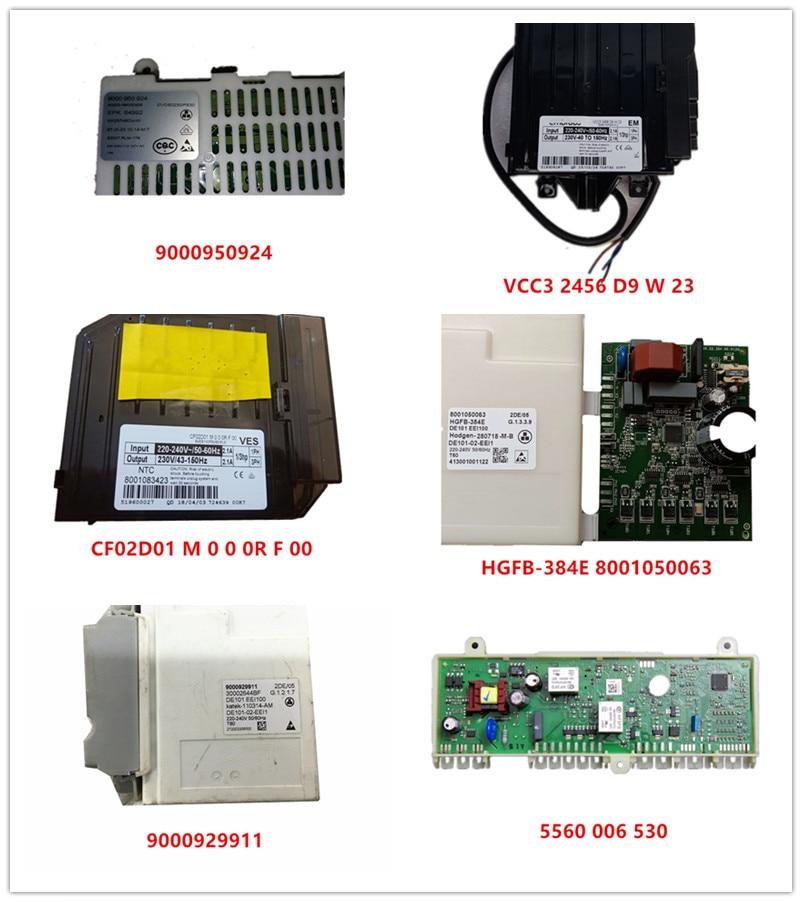 VCC3 2456 D9 W 23  CF02D01 M 0 0 0R F 00  8001050063  9000929911  5560 006 530  9000 950 924 Used Good Working