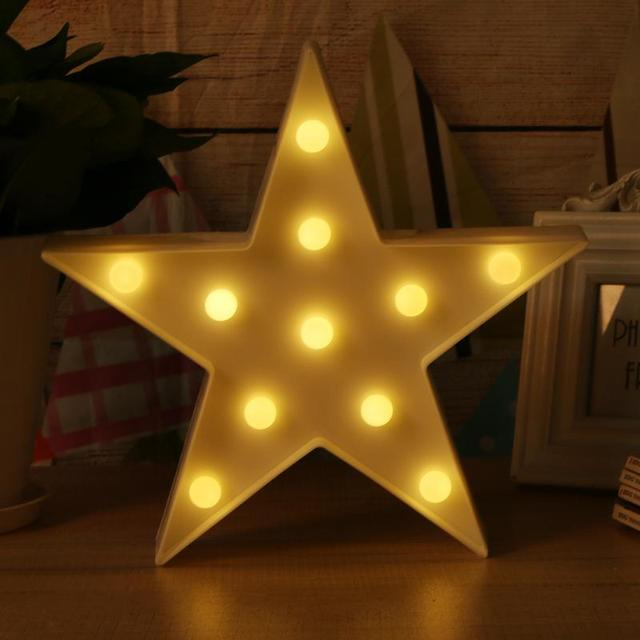 Fashion warm night light star table lamp led holiday desk lighting fashion warm night light star table lamp led holiday desk lighting for christmas home decor children aloadofball
