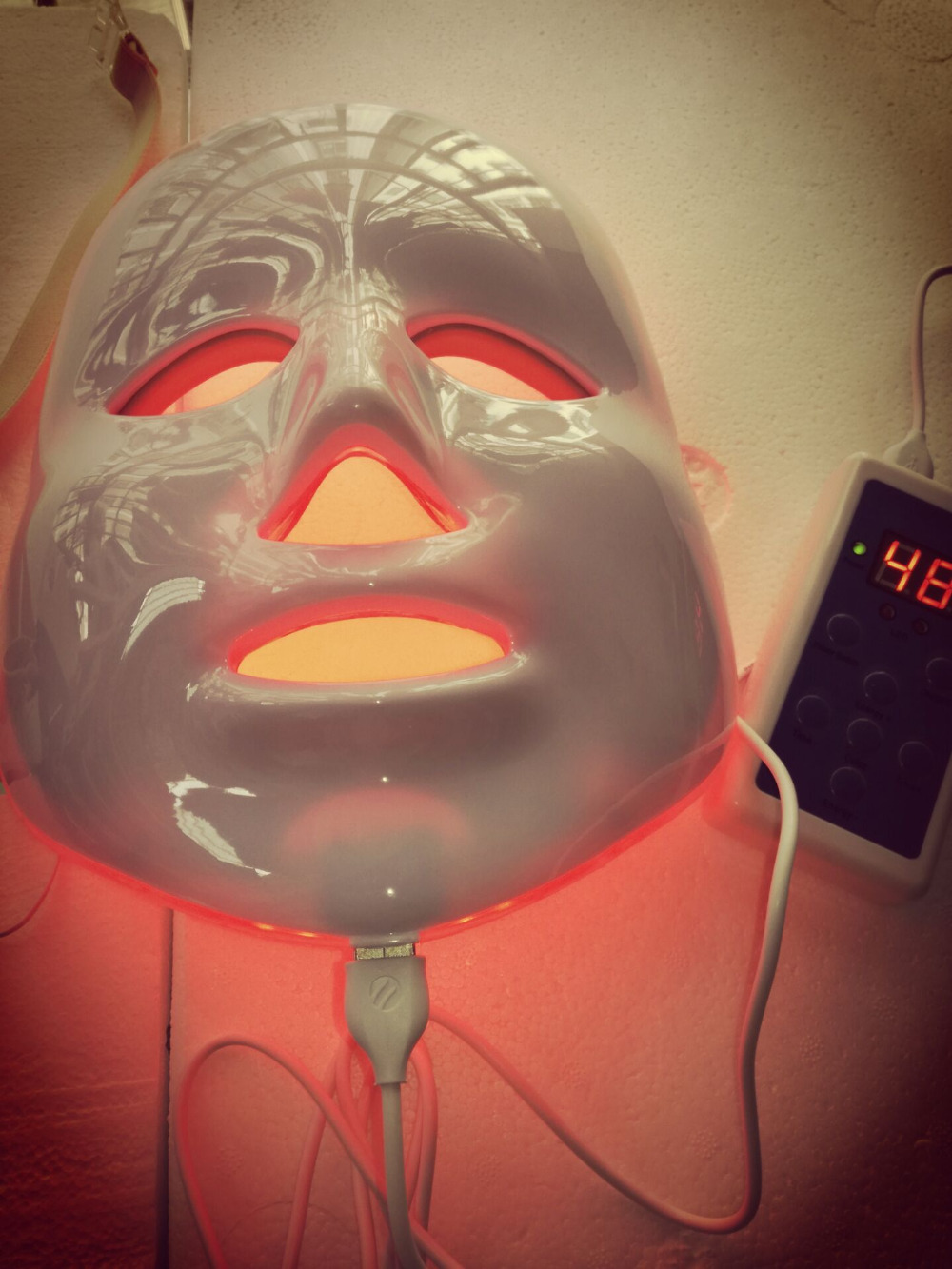 Face Skin Care Tool LED Electric Facial Mask Skin PDT Skin Rejuvenation Therapy beauty salon Anti-Aging Wrinkle Removal