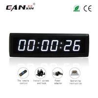 [Ganxin] Новый стиль 1,8 ''цифровой, с дистанционным управлением таймер 6 v & 5 v Светодиодные настенные часы