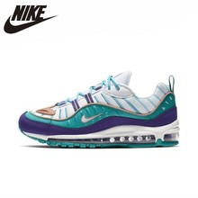 NIKE Air Max 98 Original Men Running Shoes Breathable Lightweight Sports Outdoor Sneakers#640744/AH6799 a1502 original 98