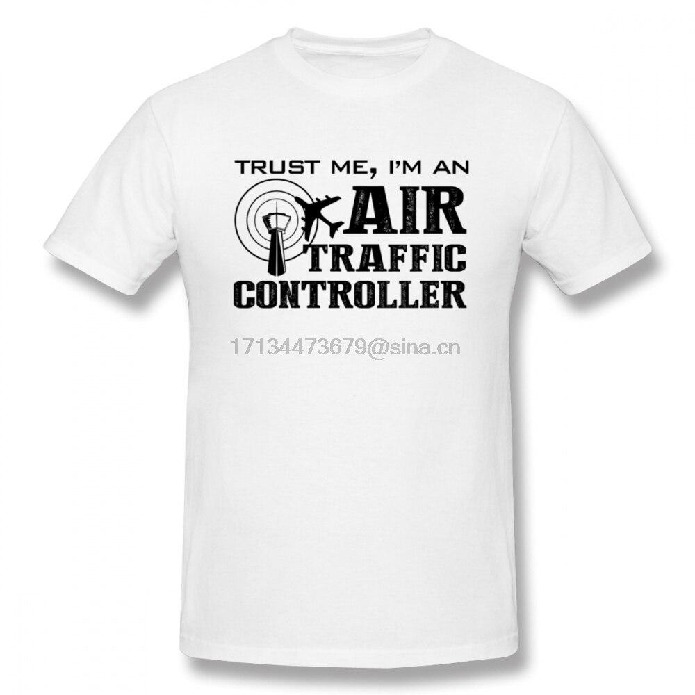 Air Traffic Controller Men T Shirt Top Kpop Oversize Cotton Short Sleeve Custom Fitness Men