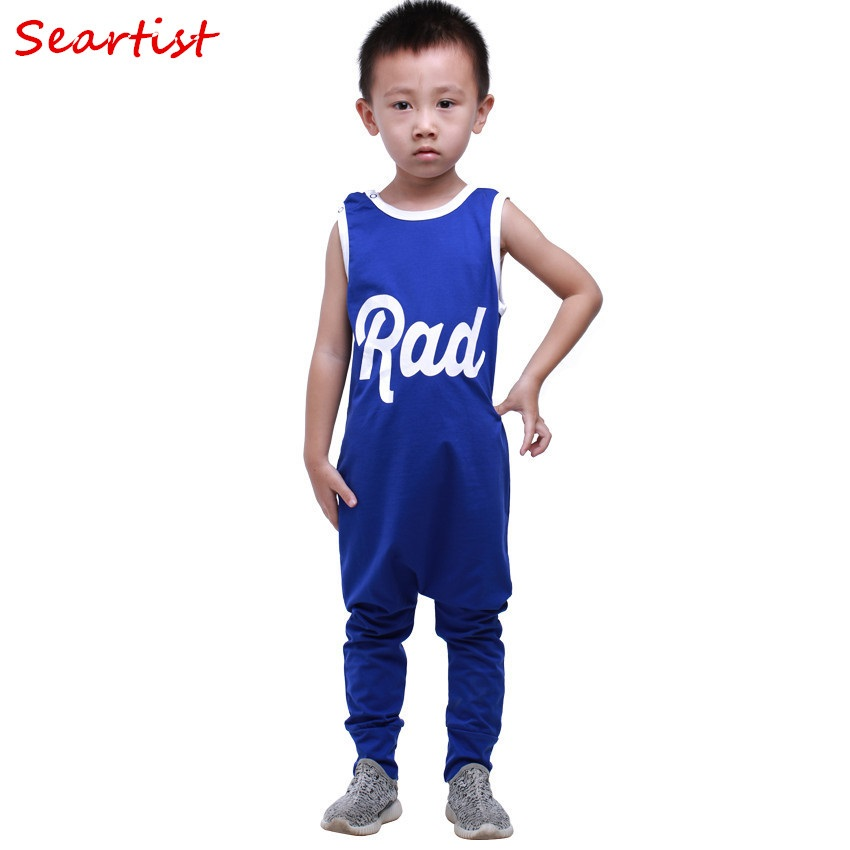 Seartist Baby Boys Girls Romper Newborn Summer Jumpsuit Kids Playsuit Tank Jumpsuit for Newborn Baby Boy Clothes 2018 New 30