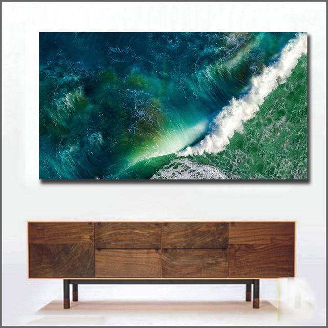Emerald Wave Canvas Print 5