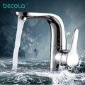 Hot sale BECOLA modern Creative bathroom sink faucet hot &cold water torneira banheiro F-6136