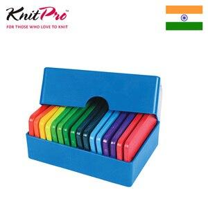 Image 4 - 1 opakowanie Knitpro Rainbow Knit blokery dziewiarskie przyrządy do szycia i akcesoria