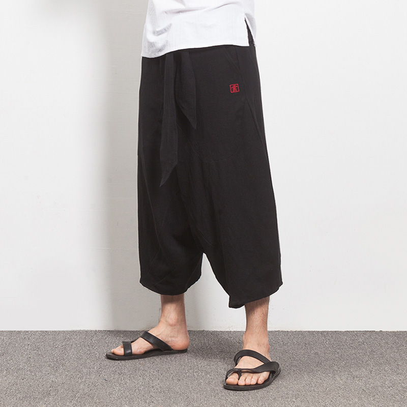 M 3XL ! 2016 new Men's clothing Chinese style linen pants ...