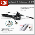 LTE 4G magnet antenna 4g indoor wifi router CRC9 antenna 12dBi for huawe E353 E315 E367