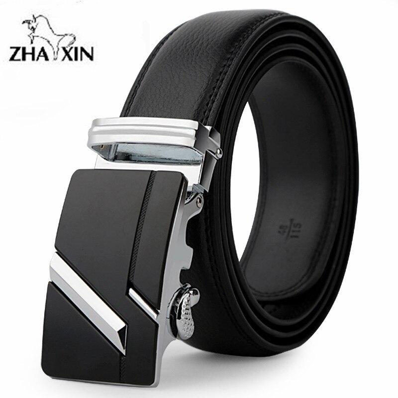 2019 del cuoio di Modo della cinghia maschio della cinghia automatico fibbia cinghie degli uomini di autentico cintura di tendenza degli uomini di cinture ceinture, cinto masculino donne