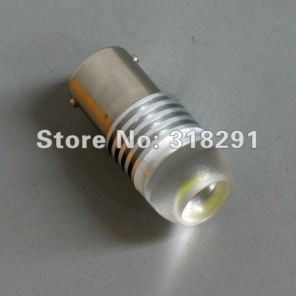 50pcs/lot 1156 t20 11571157/3156/3157/7440 ba15s 1.5W 3 core High power Led Car Reverse Light High quality low price12 v