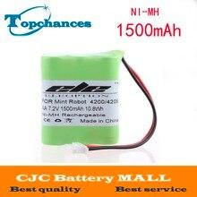 Eleoption para Mint Limpador de Chão 1500 Mah 7.2 V Ni-mh Bateria 4200 4205 Robô 4408927 Frete Grátis
