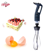 ITOP 350W/500W Electric Egg Beater Handheld Immersion Blender Commercial Vegetable Fruit Food Mixer Heavy Duty Machine