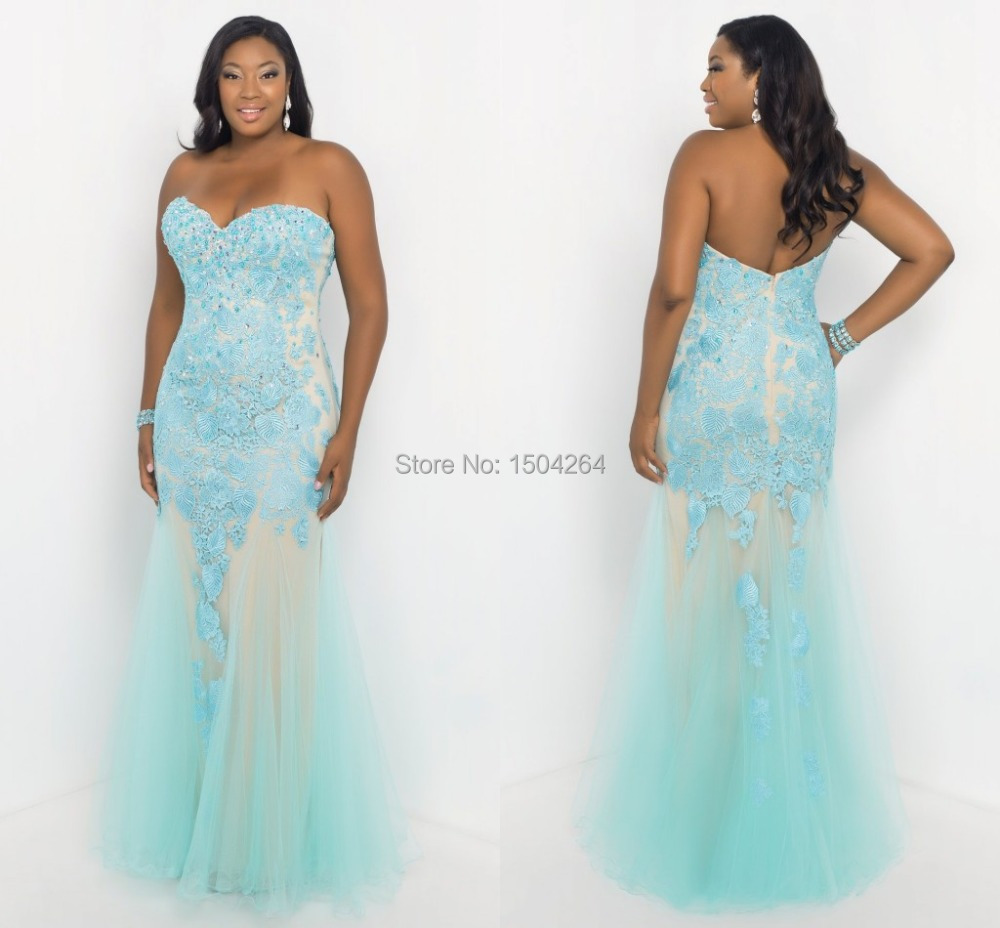 plus size mermaid prom dresses 2015 | Dress images