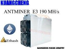 مستعمل فقط 80-90 جديد Asic إثيروم ETH مينر Antminer E3 190MH/S التعدين ETH الخ أفضل من 6 8 12 GPU مينر S9 S9i S9j