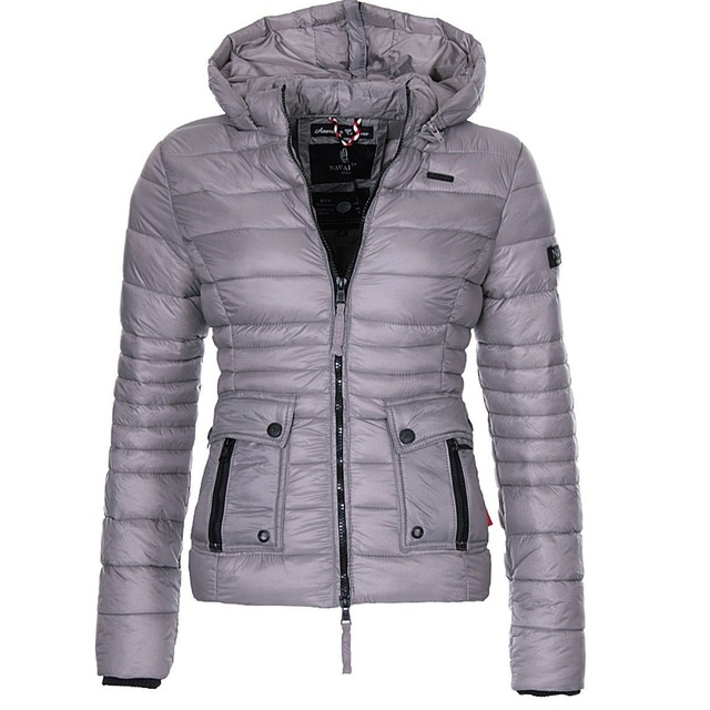 ZOGAA Winter Parkas Women's Warmth Coats Puffer Jacket Parka Women Fashion Slim Fit Solid Coat Outwear Women Parkas