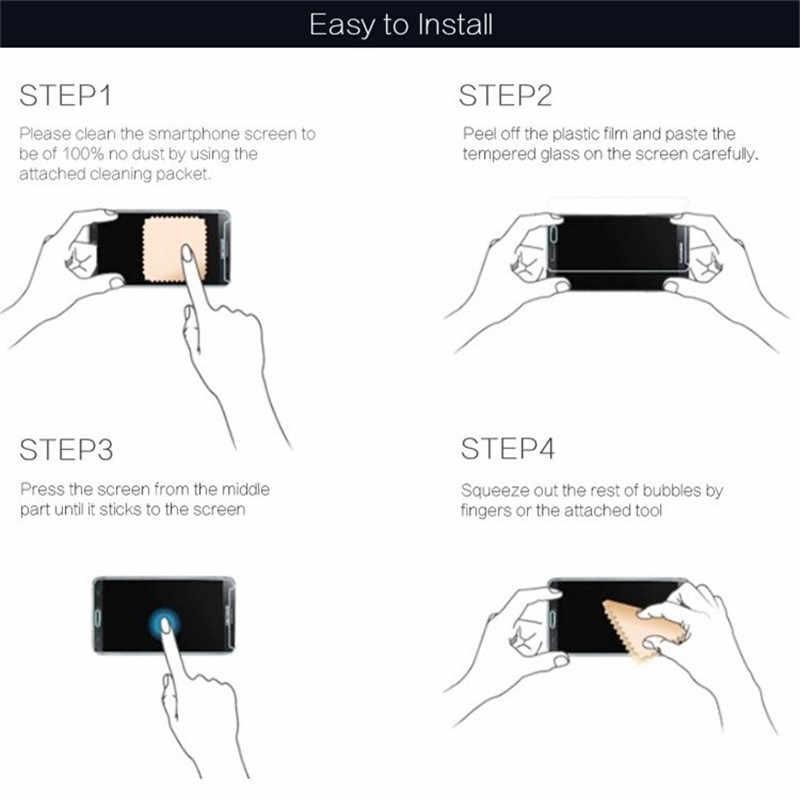 9H Pelindung Layar untuk Ipad Mini 2 3 4 5 Tempered Glass untuk iPad Pro 11 10.5 Layar Melindungi untuk iPad Air 2 2017 Pro 9.7 2018