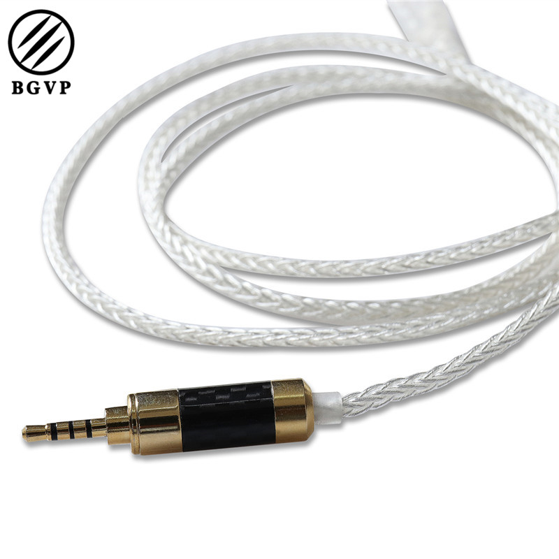 BGVP DM5 Professional 2.5mm Balancing Cable for MMCX Earphone Headphone Detachable OCC 5N High End Cable for SE315 425 Headphone