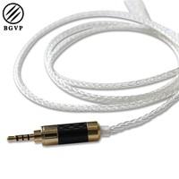 BGVP DM5 Professional 2 5mm Balancing Cable For MMCX Earphone Headphone Detachable OCC 5N High End