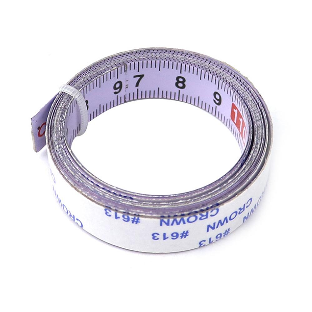 Miter Track Tape Self Adhesive Saw Measure Backing Metric Steel Ruler Measurements