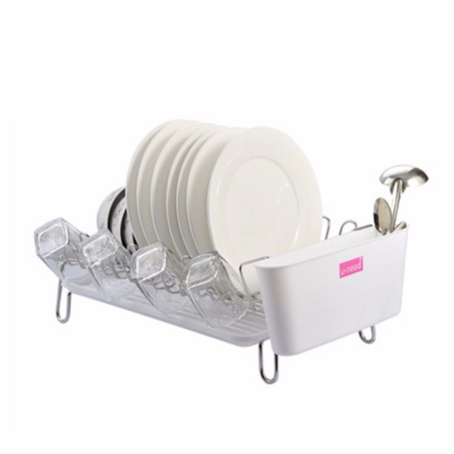 304 Stainless Steel Large Dish Drainer Stand Plate and Cutlery Rack with Drip Tray For Drying  sc 1 st  AliExpress.com & 304 Stainless Steel Large Dish Drainer Stand Plate and Cutlery Rack ...