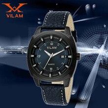 Males Wrist Men Watch Top Brand Luxury Wristwatch Man Clock Analog Display Date Quartz Leather Stylish Business Watches 120104