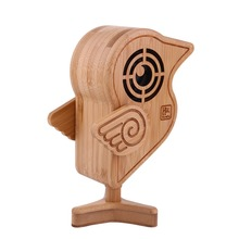 PC Speakers USB Bamboo Carving  Hand Made for Home