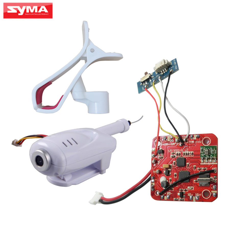 Upgraded Circuit board PCB SYMA X5H Series RC Helicopter Spare Parts FPV WiFi Camera + Phone Holder X5HW X5HC Quadcopter Parts