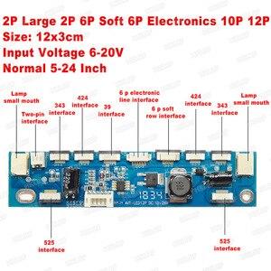 Image 3 - T V18 LED Schermo LCD Tester Strumento di Rilevamento Per La TV Del Computer Portatile di Riparazione di Computer Supporto 7 84 Pollici + V29V56V59 LCD di Controllo TV
