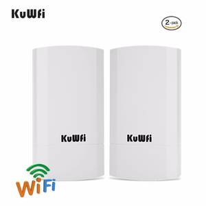 2 PCS 2.4 Ghz 300 Mbps 2 KM P2P Wireless Outdoor Wireless CPE Bridge Router Supports