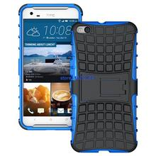 100pcs Rugged ShockProof Phone Cover Kickstand Armor Hybrid Stand Case For HTC One A9 X9 Mobile Protective Cases