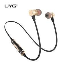 Uyg U77 беспроводной Bluetooth наушники Спорт Бег гарнитура Bluetooth стерео CRS наушники с микрофоном Микрофон для мобильного телефона