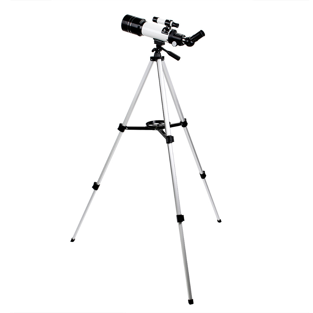 SVBONY SV35 Astronomy Refractor 70/400mm Telescope for Beginners Education Travel Scope Aluminum Tripod Cell Phone Adapter F9320