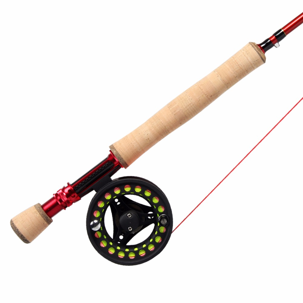 Angler Dream 3/4/5/8WT Fly Rod Combo 36T Carbon Fiber Fly Fishing Rod Large Arbor Fishing Reels & Fly Line Backing Leader сумка переноска зооник средняя 25х30х40см
