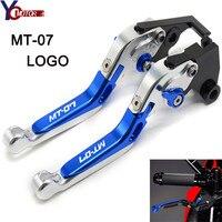 Motorcycle CNC Adjustable Foldable Motorbike Brakes Clutch Levers FOR YAMAHA MT07 MT 07 MT07 FZ 07 FZ07 FZ 07 2014 2015 2016