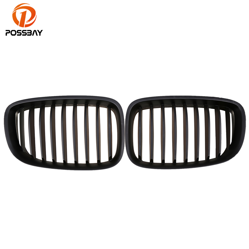POSSBAY Front Center Grilles For BMW 5 Series F07 Gran