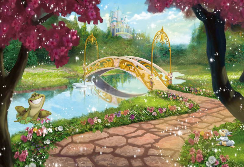 Online Buy Wholesale castle garden backdrop from China castle