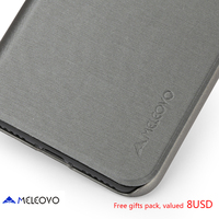 Meleovo Brand Luxury Retro Flip Book Leather Case For Iphone X For Iphone 8 Plus For