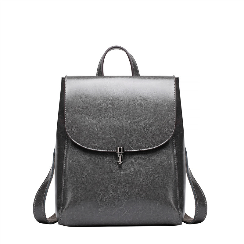 Nesitu New Brown Coffee Grey Black Split Leather Women Backpacks Female For Girl #M0786 aquapulse 4122b grey black
