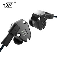 Original KZ ZS6 2DD 2BA Hybrid In Ear Earphone HIFI DJ Monito Running Sport Earphones Earplug