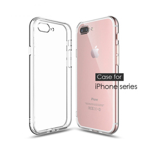 TPU Transparent Mobile Phone Case for Apple iPhone X XR XS M