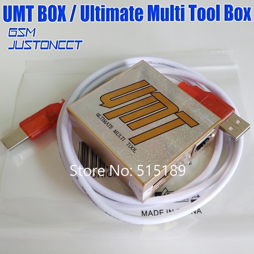Gsmjustoncct original nouvelle boîte à outils Multi ultime boîte UMT pour déverrouillage Cdma, flash, verrouillage Sim supprimer
