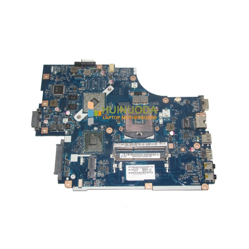 MBR5402001 NEW70 LA-5891P Laptop Motherboard For ACER 5741 5741G Mainboard with ATI Graphics S988A HM55 Tested warranty 60 days 45 days warranty laptop motherboard for asus k53b la 7322p with 4 video chips non integrated graphics card 100