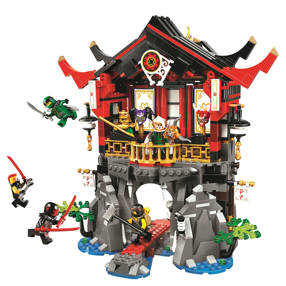 BELA Ninjagoed Temple of Resurrection Building Blocks Sets Bricks Ninja Movie Classic Model Kids Toys Marvel Compatible Legoe марк бойков 泰坦尼克之复活 возвращение титаника resurrection of titanic