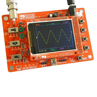 HOT DSO138 Digital Oscilloscope DIY Kit STM32 Tester with Acrylic Case TI99