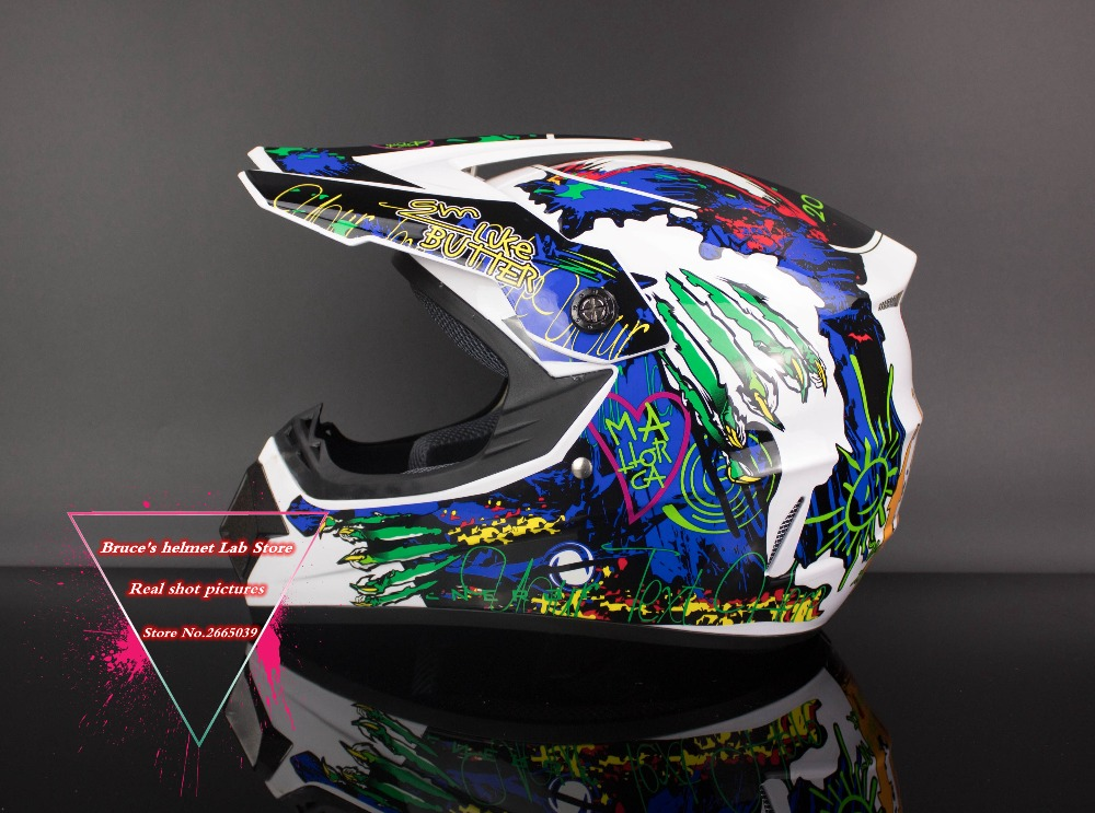 New Arrive DOT Approved Motocross Personalized Helmets Motor Cycle Helmets MTB DH Racing Off Road Helmet Motocross KTM ABS LB125(China (Mainland))