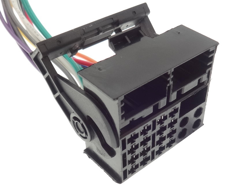 Adapter Quadlock Kabel ISO für BMW VW Mercedes Audi Opel Ford Radio Navi Aux